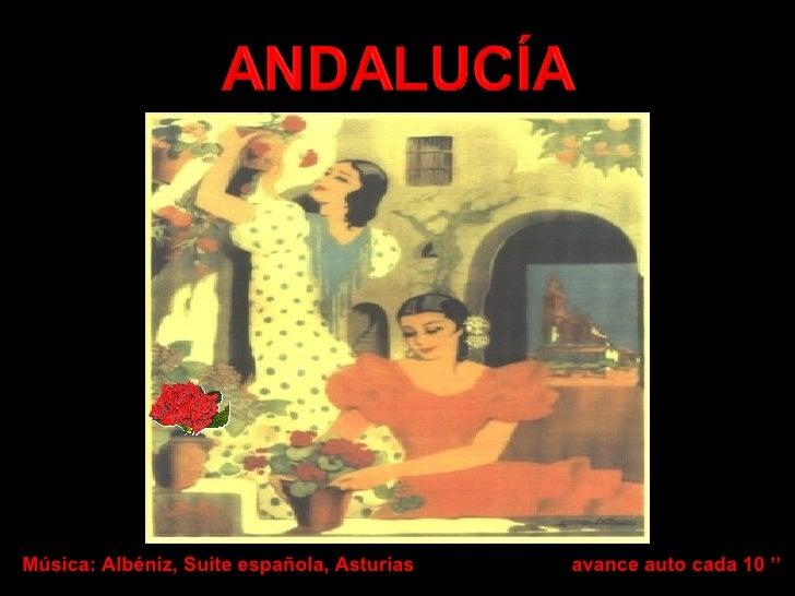 Música: Albéniz, Suite española, Asturias avance auto cada 10 ''