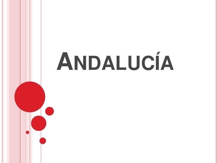 Andalucía<br />