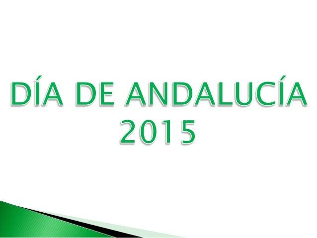 Este año el día de Andalucía ha tenido un lugar en nuestro cole. Después de trabajar en clase aspectos de nuestra Comunida...