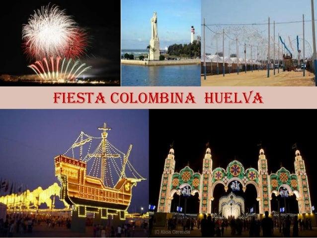 FIESTA COLOMBINA HUELVA