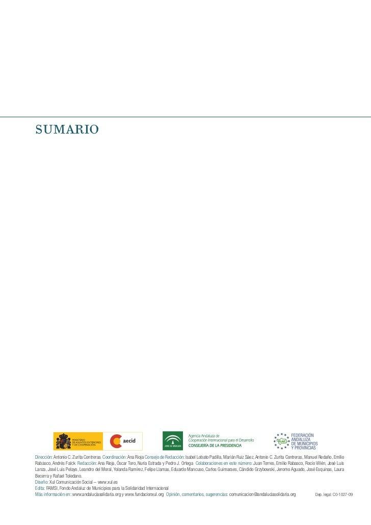 SUMARIODirección: Antonio C. Zurita Contreras Coordinación: Ana Rioja Consejo de Redacción: Isabel Lobato Padilla, Marián ...