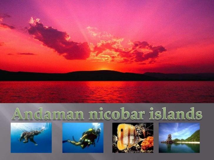 Andaman nicobar islands<br />