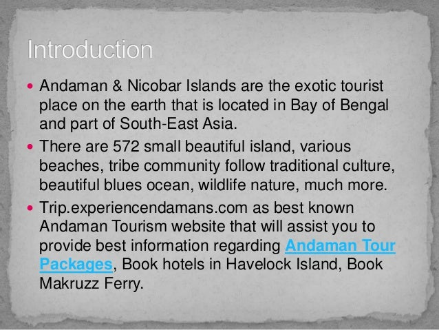 Economical Andaman tour packages with Experience Andamans Slide 2