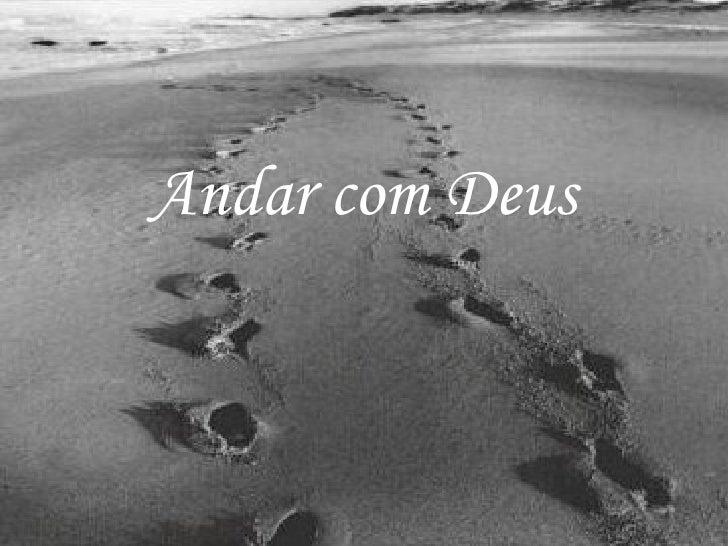 Andar com Deus