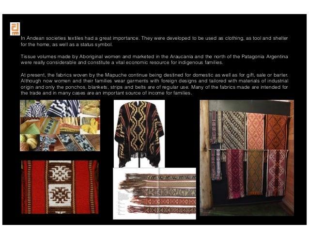 Andean Designs Mapuche Investigacin 2012 2013
