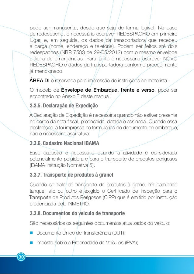 Manual de Transporte de Produtos Fitossanitários bf9c5ec8610
