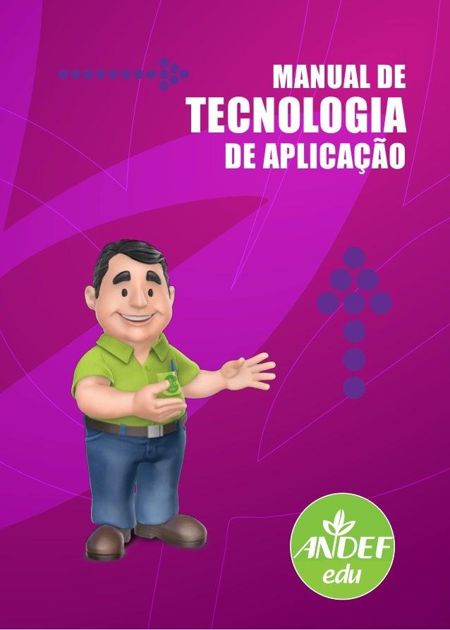 MANUAL DE TECNOLOGIA DE APLICAÇÃO