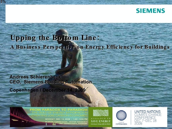 Page  December 2009 6,5% Andreas Schierenbeck CEO,  Siemens Building Automation Copenhagen / December 14, 2009 Upping the ...