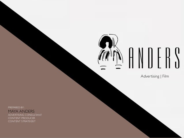 Anders Advertising Portfolio