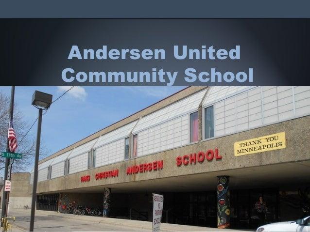 Andersen UnitedCommunity School