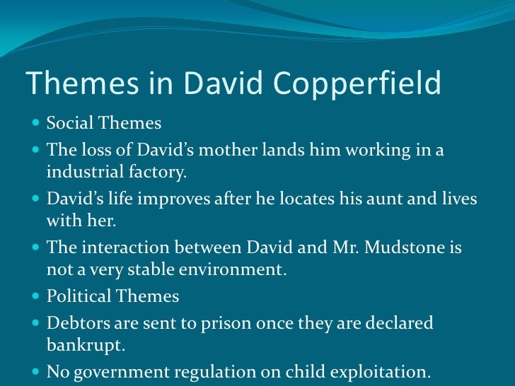 anderson dickens pp 14 themes in david copperfield