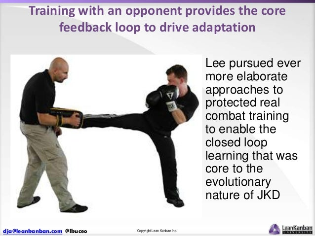 Training with an opponent provides the core feedback loop to drive adaptation Lee pursued ever more elaborate approaches t...