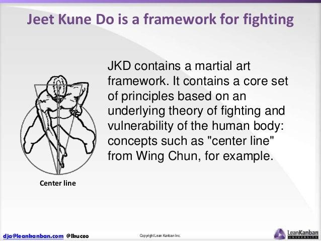 Jeet Kune Do is a framework for fighting JKD contains a martial art framework. It contains a core set of principles based ...
