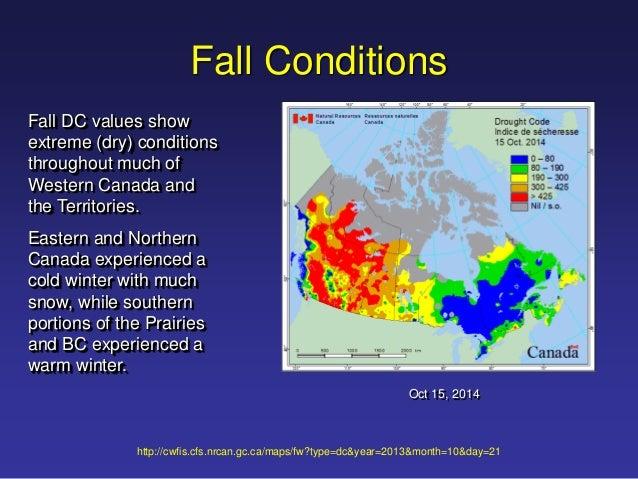 Canada Fall Foliage Map 2015 ICLR Forecast Webex: 2015 wildfire Season (June 8, 2015)