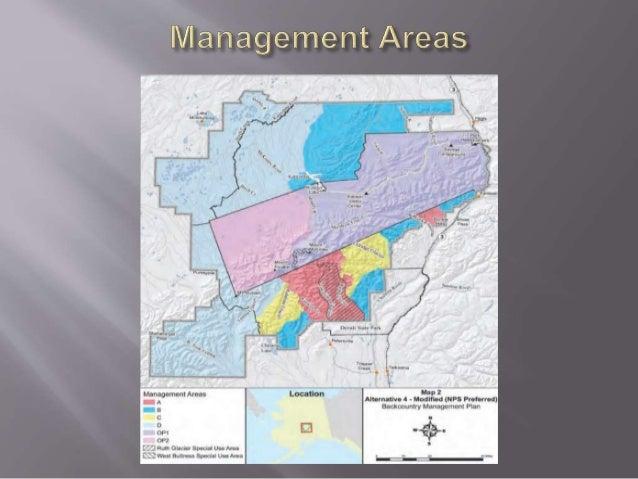 Paul Anderson Denali Backcountry Management Plan