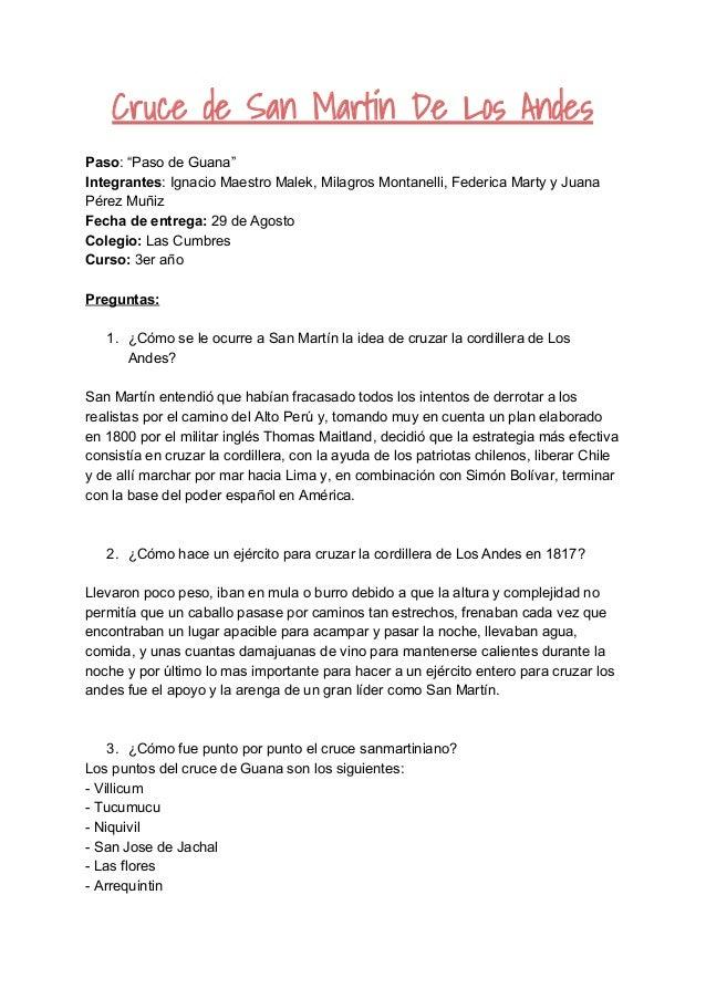 """Cruce de San Martín De Los Andes Paso: """"Paso de Guana"""" Integrantes: Ignacio Maestro Malek, Mil..."""