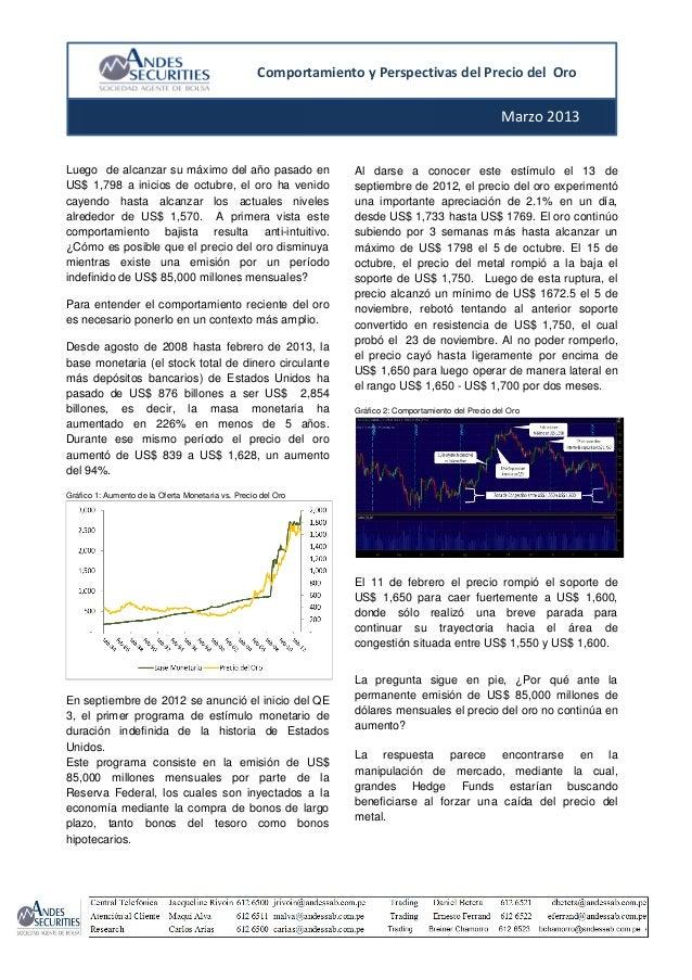 Andes y perspectivas del precio del oro 1 for 1 costo del garage