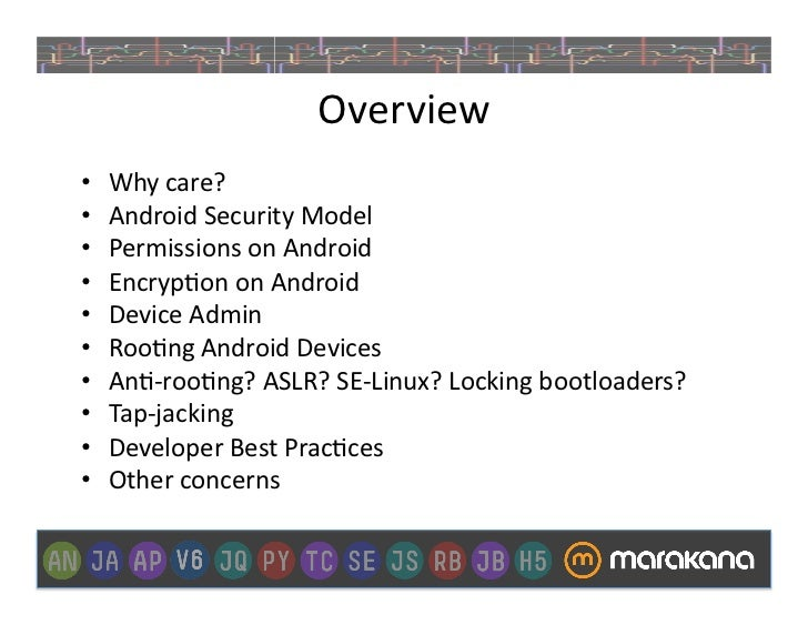 Deep Dive Into Android Security Slide 3