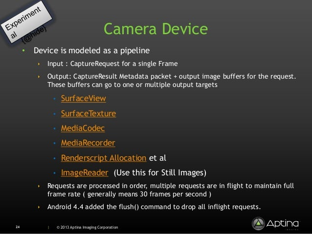 Hidden Camera 3 APIs in Android 4 4 (KitKat)