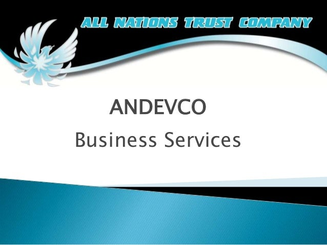 ANDEVCO  Business Services