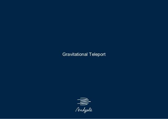 Gravitational Teleport SSH再生産