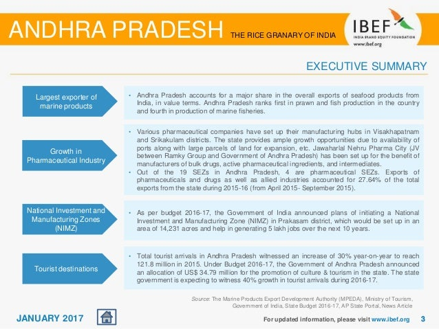 Andhra Pradesh State Report January 2017