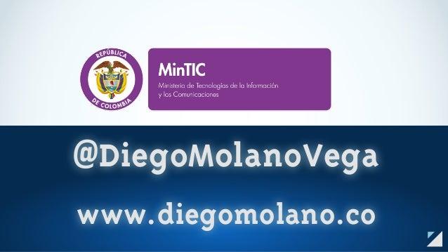 @DiegoMolanoVega www.diegomolano.co