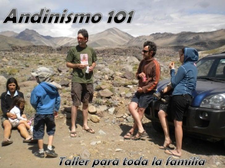 Andinismo 101