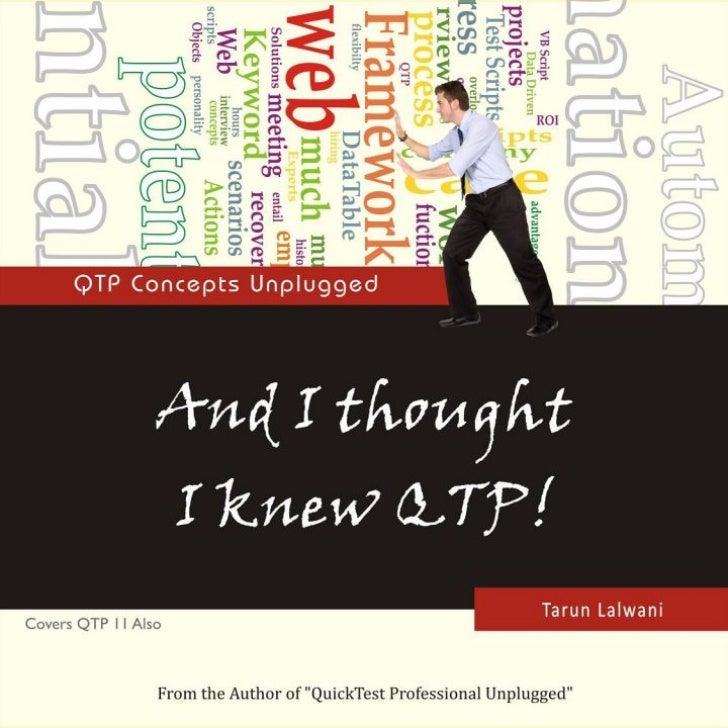 Qtp Unplugged By Tarun Lalwani Download