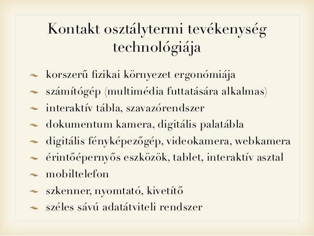 Eszközrendszerek és oktatási kultúra Slide 3