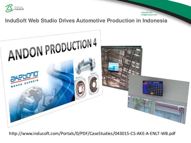 Andon Applications with InduSoft Web Studio
