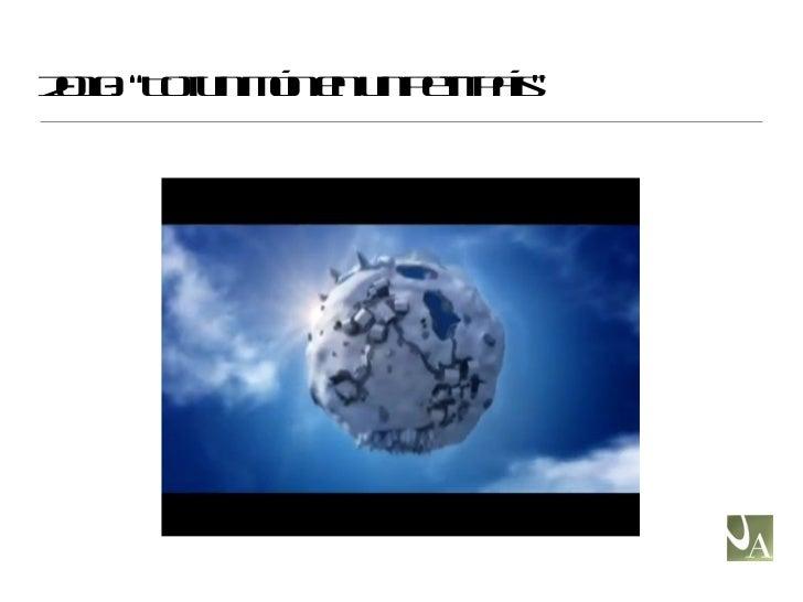 """2010: """"Tot un món en un petit país"""""""