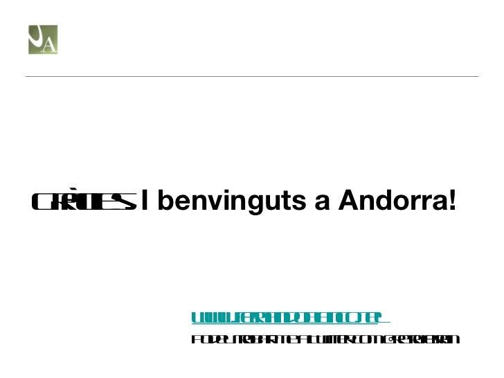 Gràcies.  I benvinguts a Andorra! www.fernandoblanco.tel Podeu trobar-me a Twitter com @retroferran