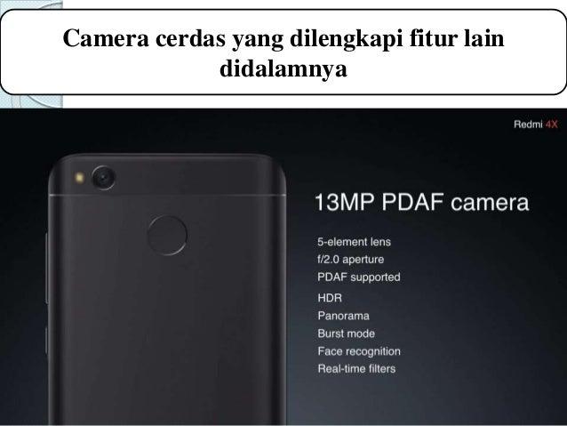 Presentasi Produk Spesifikasi Hp Xiaomi Redmi X4