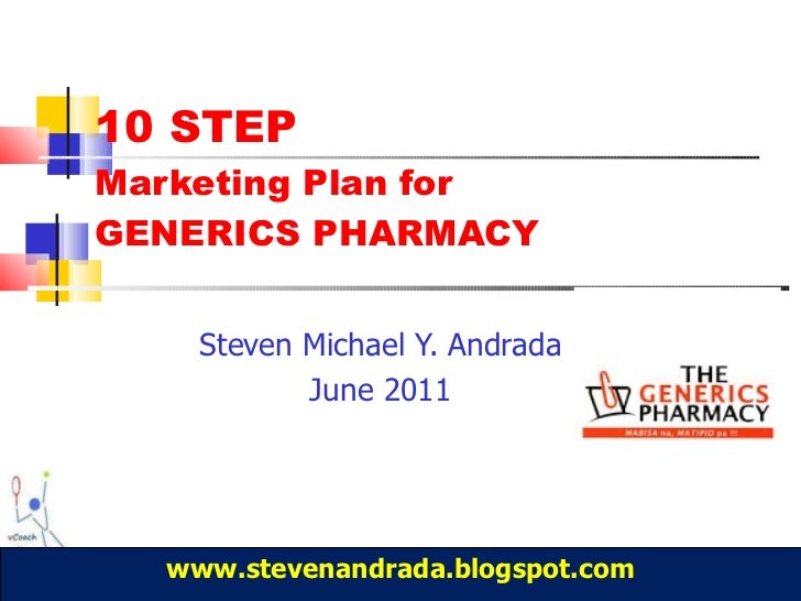 pharmacy marketing plan Are you doing everything you can to ensure your independent community pharmacy is successful unfortunately, many businesses don't read more.