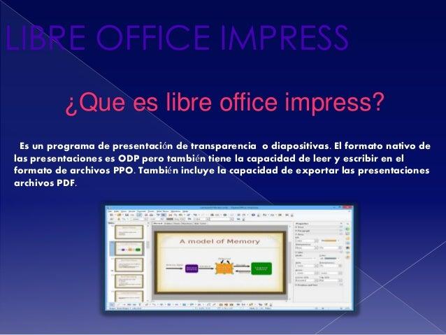 Libre Impress