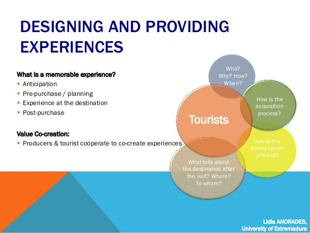 Tourism Experience