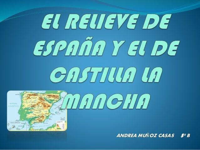 ANDREA MUÑOZ CASAS  5º B