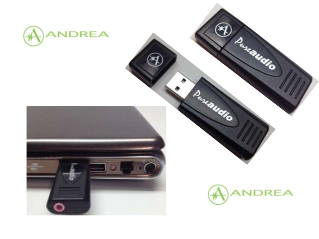 ANDREA PUREAUDIO USB-MA DRIVERS WINDOWS 7
