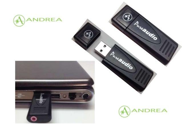 Andrea PureAudio USB-MA Driver Download
