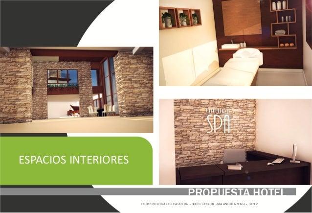 Proyecto final de carrera arquitectura hotel resort - Carrera de arquitectura de interiores ...