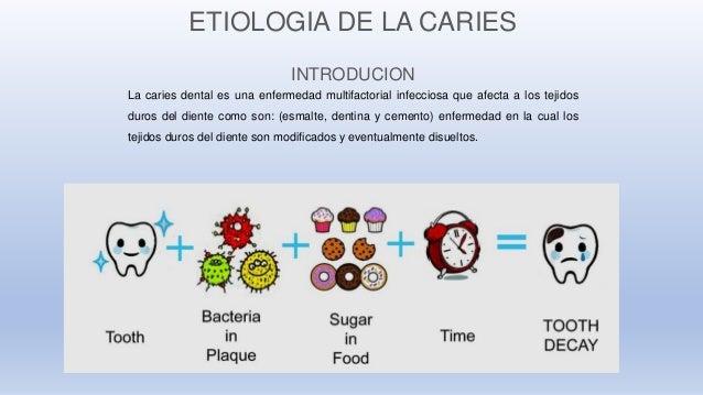 Carmen Hurtado Chancafe Historia Natural de la Enfermedad Caries Dental