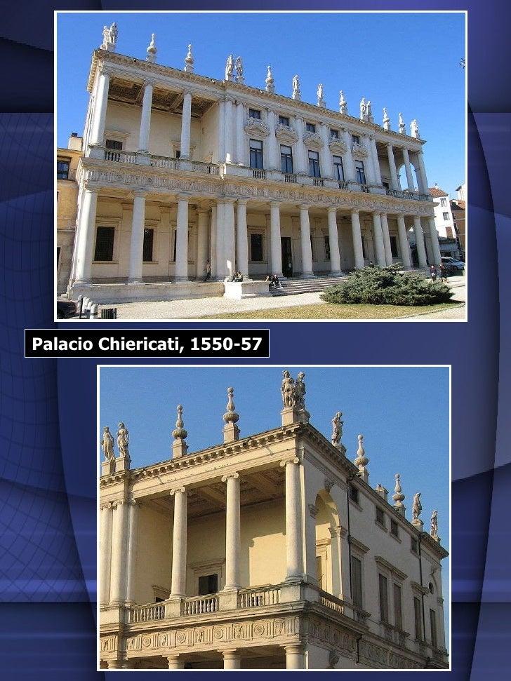 Palacio Chiericati, 1550-57