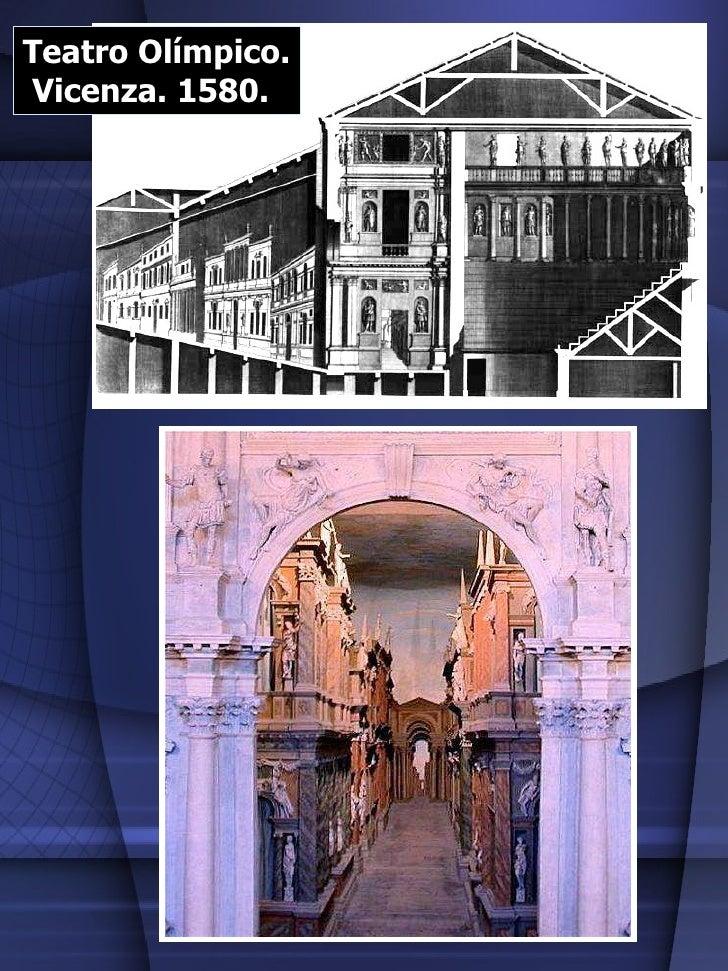 Teatro Olímpico. Vicenza. 1580.