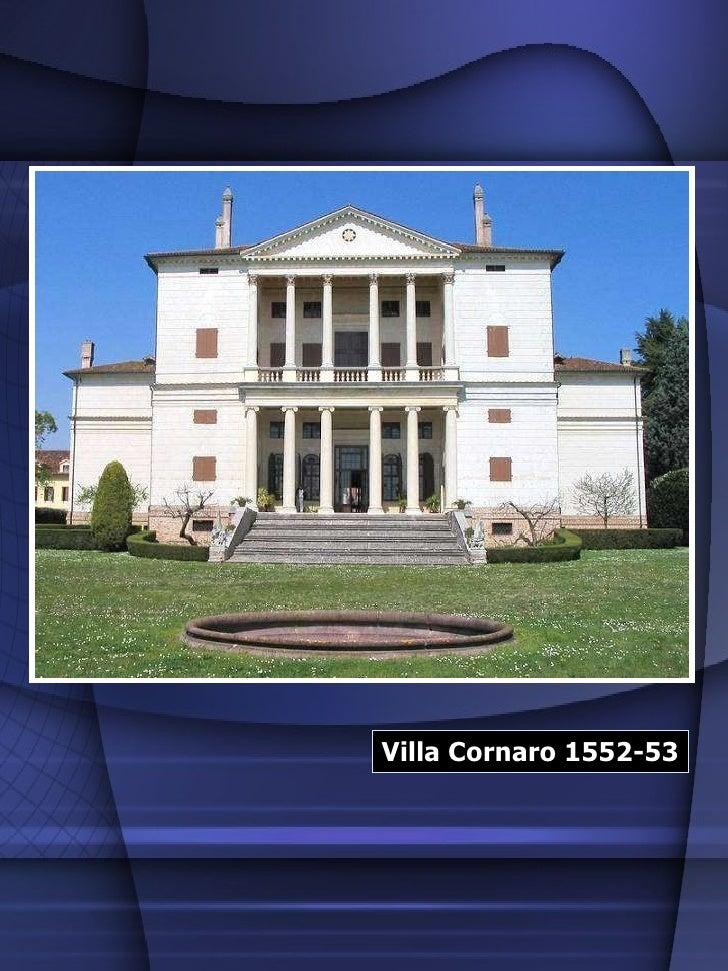 Villa Cornaro 1552-53