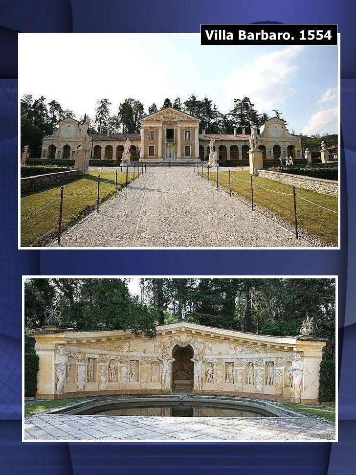 Villa Barbaro. 1554
