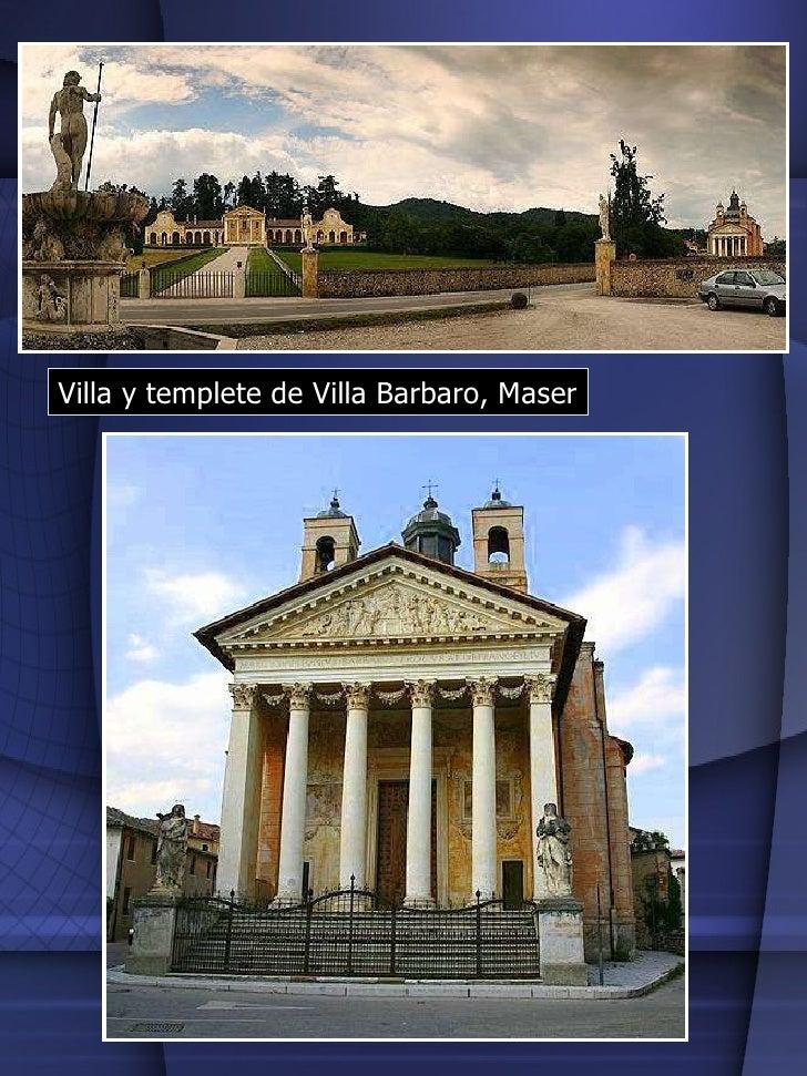 Villa y templete de Villa Barbaro, Maser