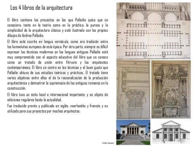 Los cuatro libros de la arquitectura wikipedia la andrea for Investigar sobre la arquitectura