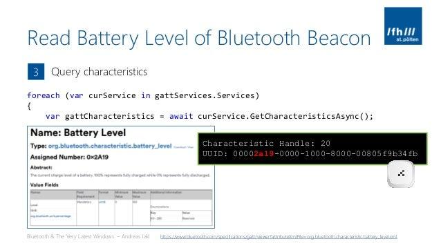 Bluetooth Beacons - Bluetooth 5, iBeacon, Eddystone, Arduino