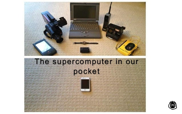 The supercomputer in our pocket